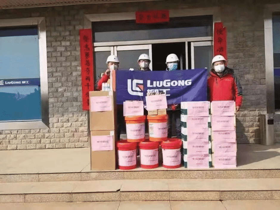 LiuGong Machines Help Build Leishenshan Hospital & Huoshenshan Hospital to Fight the Virus in Wuhan